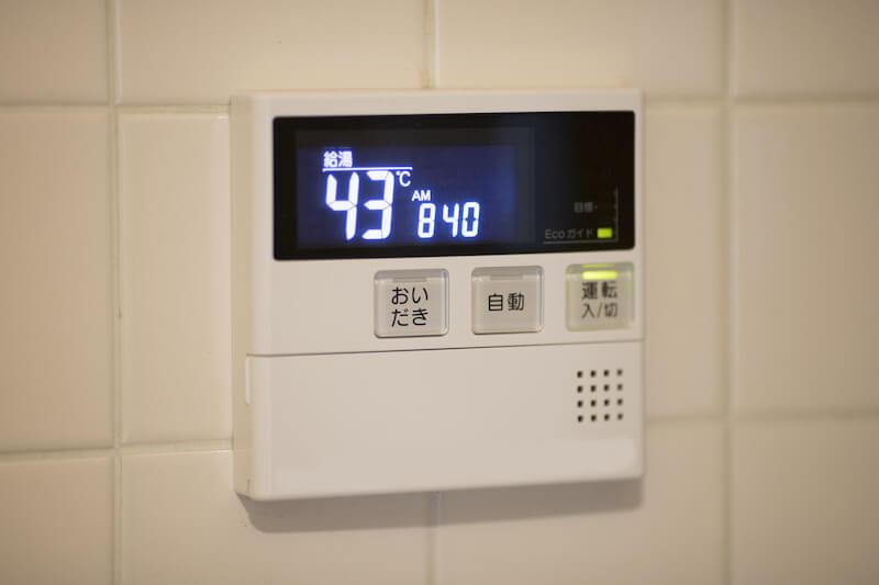 温度 給湯 設定 器