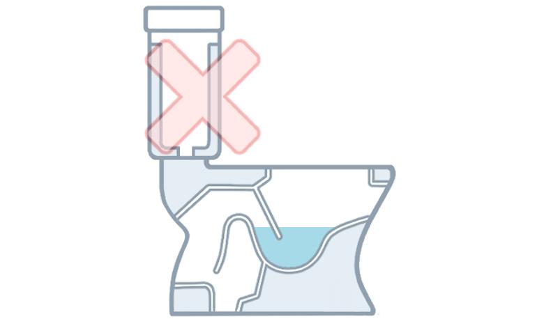 が 水 たまらない の トイレ